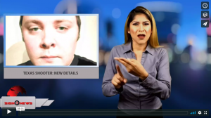 Sign1News Anchor Crystal Cousineau - - News for the deaf community powered by CNN in American Sign Language (ASL).
