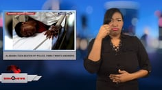 Sign 1 News with Candace Jones - Alabama teen beaten by police, family wants answers