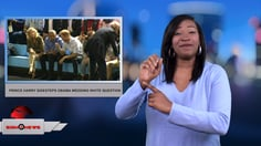 Sign 1 News with Candace Jones - Prince Harry sidesteps Obama wedding invite question