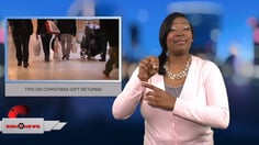 Sign 1 News with Candace Jones - TIPS ON CHRISTMAS GIFT RETURNS
