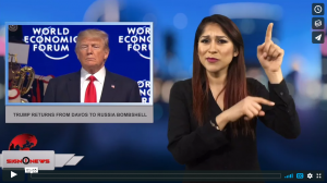 Sign 1 News with Crystal Cousineau - Trump returns from Davos to Russia bombshell (1.27.18)