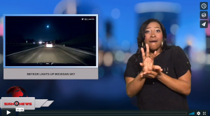 Sign 1 News with Candace Jones - Meteor lights up Michigan sky (1.17.18)