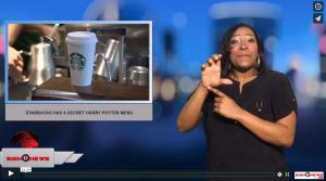 Sign 1 News with Candace Jones - Starbucks has a secret Harry Potter menu (1.17.18)