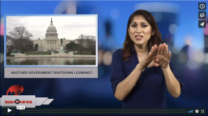 Sign 1 News with Crystal Cousineau - Another government shutdown looming? (2.6.18)