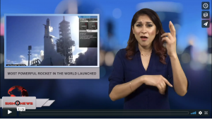 Sign 1 News with Crystal Cousineau - Most powerful rocket in the world launched (2.6.18)