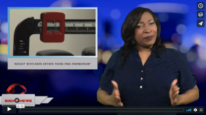 Sign 1 News with Candace Jones - Weight Watchers offers teens free membership