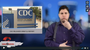 Sign 1 News with Jethro Wooddall - CDC releases grim flu report (2.10.18)