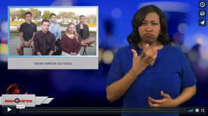 Sign 1 News with Candace Jones - Teens express outrage (2.18.18)