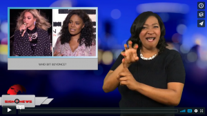 Sign 1 News with Candace Jones - Who bit Beyonce? (ASL - 3.28.18)