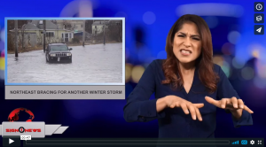 Sign 1 News with Crystal Cousineau - Northeast bracing for another winter storm (3.6.18)