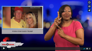 Sign1News with Candace Jones - Porn star sues Trump (3.7.18)