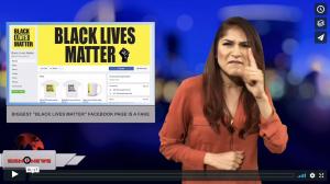 """Biggest """"Black Lives Matter"""" Facebook page is a fake (4.10.18)"""