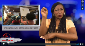 Sign 1 News with Candace Jones -Arrests spark Starbucks boycott (4.15.18)