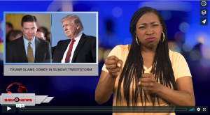 Sign 1 News with Candace Jones -Trump slams Comey in Sunday tweetstorm (4.15.18)