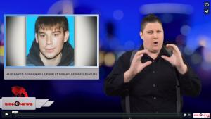 Sign 1 News with Jethro Wooddall - Half naked gunman kills four at Nashville Waffle House (4.21.18)