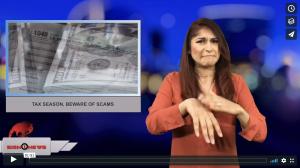 Tax season, beware of scams (4.10.18)