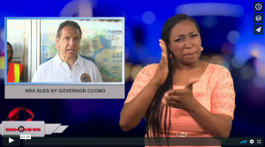 Sign 1 News with Candace Jones - NRA sues NY Governor Cuomo