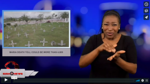 Sign 1 News with Candace Jones - Maria death toll could be more than 4,600 (5.30.18)