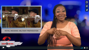 Sign 1 News with Candace Jones - Royal wedding: Military preparation