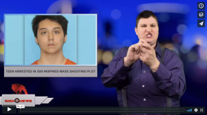 Sign 1 News with Jethro Wooddall - Teen arrested in ISIS-inspired mass shooting plot (5.2.18)