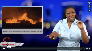 Sign 1 News with Candace Jones - New volcano eruption brings new threat for residents (ASL - 5.20.18)