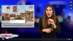 Sign 1 News with Crystal Cousineau - Burger King asks Wendy's to the prom (5.15.18)