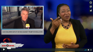 Sign 1 News with Candace Jones - Alec Baldwin says if he ran against Trump he would win (6.12.18)