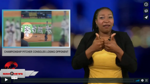 Sign 1 News with Candace Jones - Championship pitcher consoles losing opponent (6.12.18)