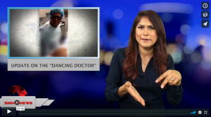 "Sign 1 News with Crystal Cousineau - Update on the ""Dancing Doctor"" (6.8.18)"