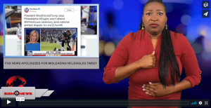 Sign 1 News with Candace Jones - Fox News apologizes for misleading NFL/Eagles tweet (6.5.18)