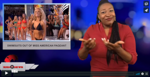 Sign 1 News with Candace Jones - Swimsuits out of Miss American Pageant (6.5.18)