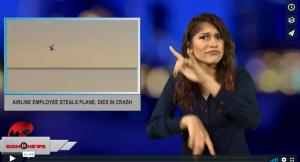 Airline employee steals plane, dies in crash (ASL - 8.11.18)