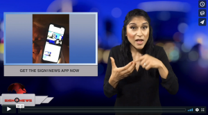 Sign 1 News with Crystal Cousineau - Get the Sign1News app now (ASL - 8.29.18)