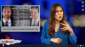 Sign 1 News with Crystal Cousineau - Rick Gates turns on ex-boss in Manafort trial (ASL - 8.7.18)