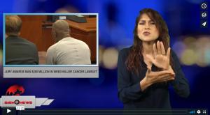 Jury awards man $289 Million in weed killer cancer lawsuit (ASL - 8.11.18)