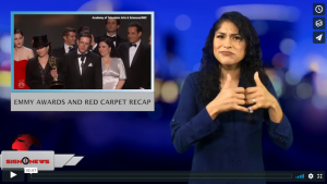 Sign 1 News with Crystal Cousineau - Emmy Awards and red carpet recap (ASL - 9.18.18)