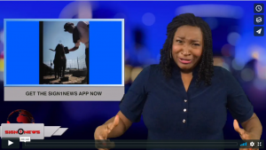 Sign 1 News with Candace Jones - Get the Sign1News app now (ASL - 9.5.18)