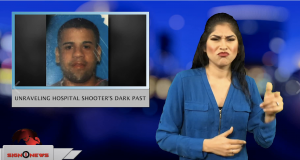 Sign1News anchor Crystal Cousineau - Unraveling hospital shooter's dark past (ASL - 11.22.18)
