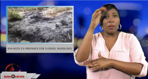 Sign1News anchor Candace Jones - Ravaged CA prepares for floods, mudslides (ASL - 11.30.18)