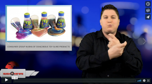 Sign 1 News with Jethro Wooddall - Consumer group warns of dangerous toy slime products (ASL - 11.20.18)