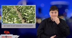 Sign1News anchor Jethro Wooddall - Is it safe to eat romaine lettuce again? (ASL - 12.6.18)