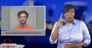 Sign1News anchor Candace Jones - Social media star arrested for assault (ASL - 1.1.19)