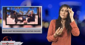Kevin Hart reconsidering hosting Oscars (ASL - 1.4.19)