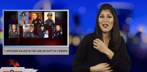 Sign1News anchor Crystal Cousineau - 7 officers killed in the Line of duty in 2 weeks (ASL - 1.18.19)