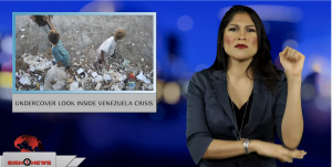 Sign1News anchor Crystal Cousineau - Undercover look inside Venezuela crisis (ASL - 1.28.19)