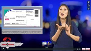 Sign 1 News with Crystal Cousineau - Blood pressure meds recalled over cancer concerns (ASL - 1.3.19)