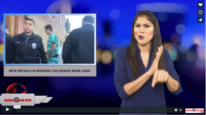 Sign 1 News with Crystal Cousineau - New details in missing Colorado mom case (ASL - 1.3.19)