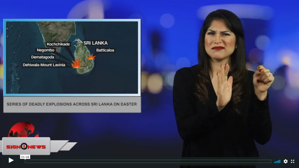 Sign 1 News with Crystal Cousineau - Series of deadly explosions across Sri Lanka on Easter (4.21.19)