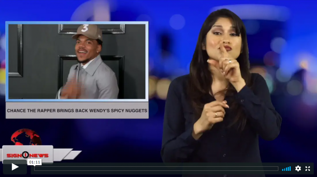 Chance the rapper brings back Wendy's spicy nuggets (ASL - 5.7.19)