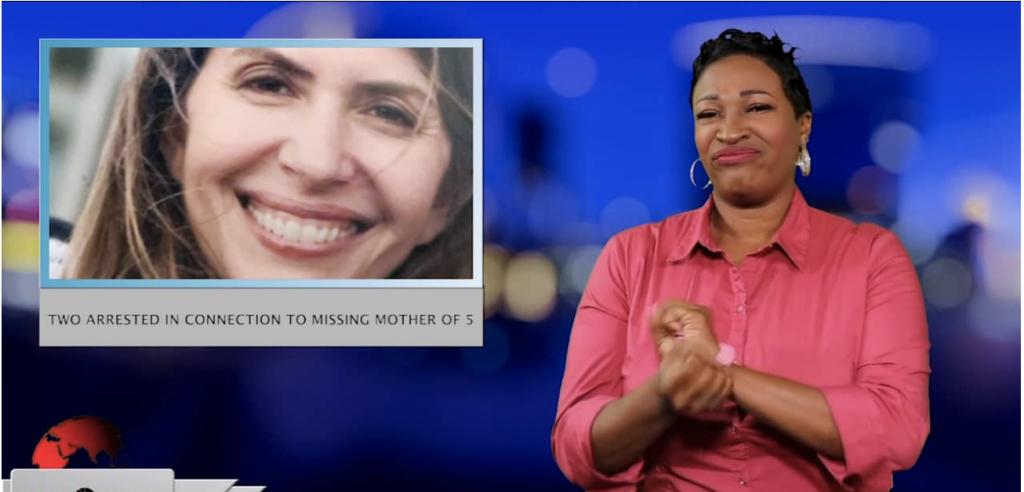 Sign1News anchor Candace Jones